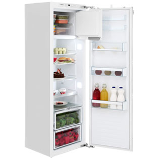 Bosch Serie 6 KIL82AF30G Integrated Upright Fridge with Ice Box - Fixed Door Fixing Kit - White - A++ Rated