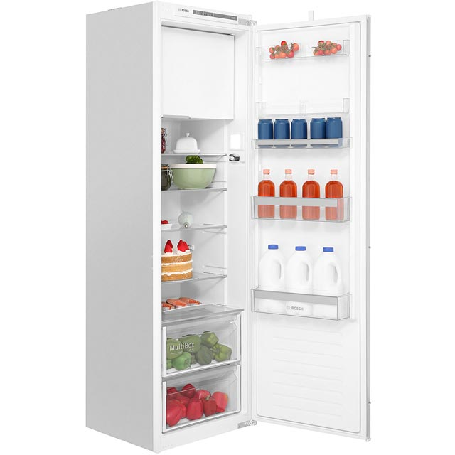 Bosch KIL82VS30G Integrated Upright Fridge with Ice Box - Sliding Door Fixing Kit - A++ Rated