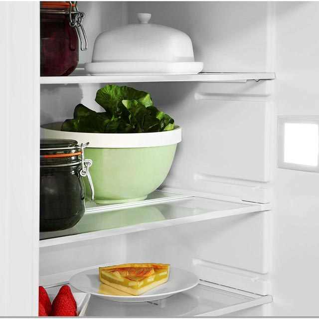 Bosch Serie 8 KIN86AD30G Built In 60/40 Frost Free Fridge Freezer - White - KIN86AD30G_WH - 4