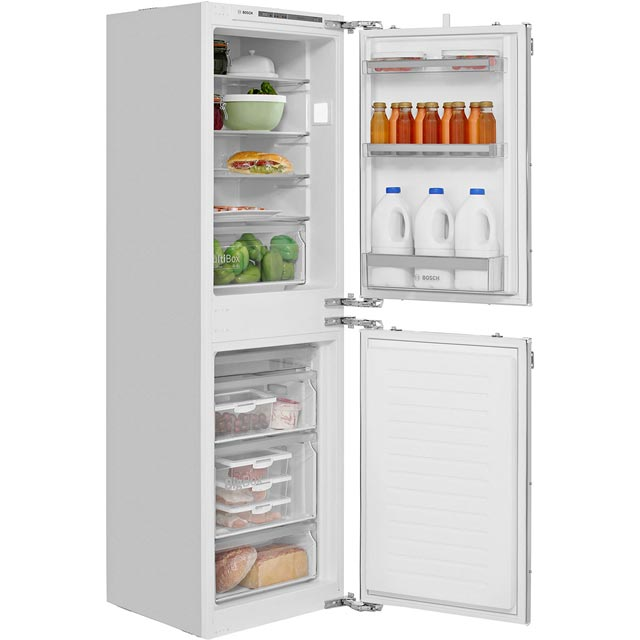 Bosch Serie 4 Integrated 50/50 Fridge Freezer with Fixed Door Fixing Kit - White - A++ Rated