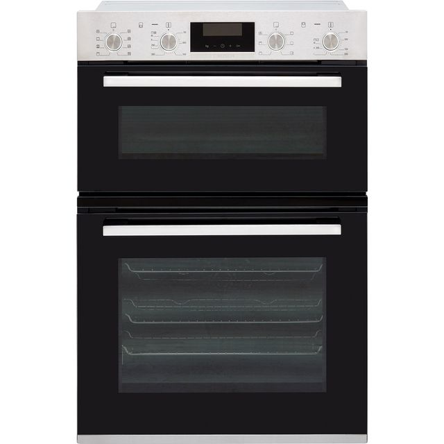 Bosch Serie 6 MBA5350S0B Built In Double Oven - Stainless Steel - A/B Rated - MBA5350S0B_SS - 1