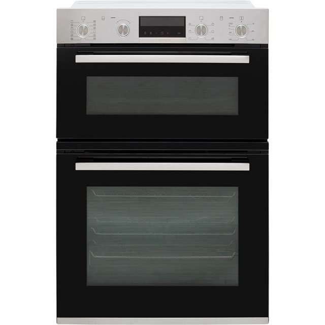 Bosch Serie 6 MBA5785S0B Built In Double Oven - Stainless Steel - MBA5785S0B_SS - 1