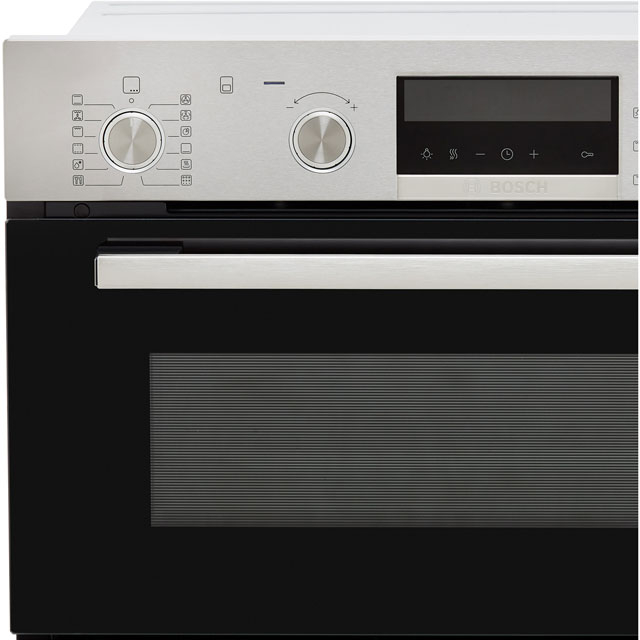 Bosch Serie 6 MBA5785S0B Built In Double Oven - Stainless Steel - MBA5785S0B_SS - 4