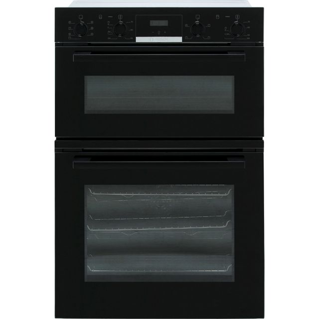 Bosch Serie 4 MBS533BB0B Built In Double Oven - Black - A/B Rated - MBS533BB0B_BK - 1