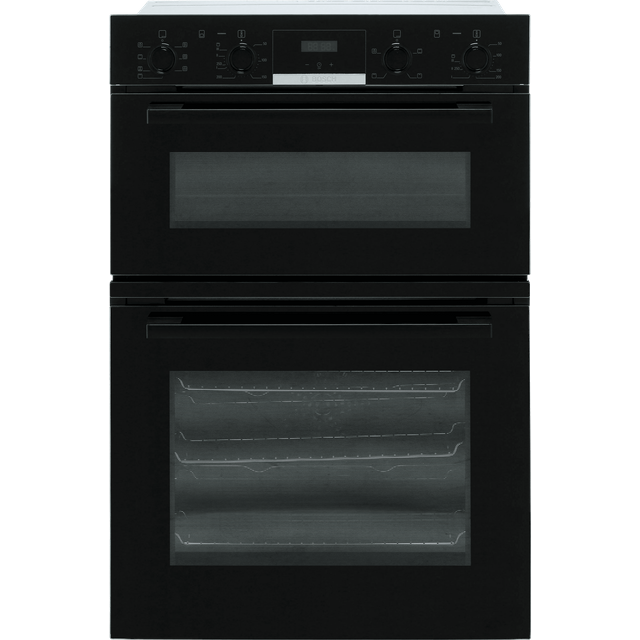 Bosch Serie 4 MBS533BB0B Built In Double Oven - Black - MBS533BB0B_BK - 1