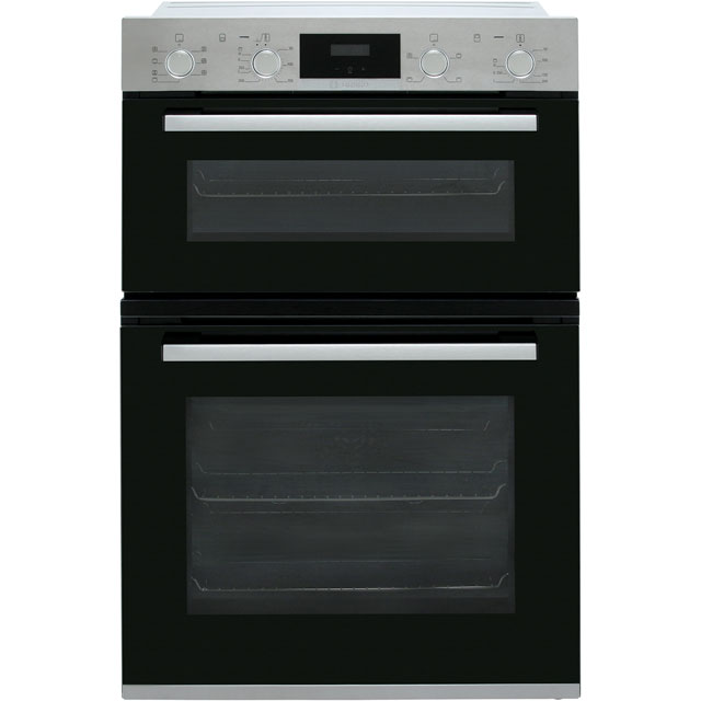 Bosch Serie 4 MBS533BS0B Built In Electric Double Oven - Stainless Steel - MBS533BS0B_SS - 1