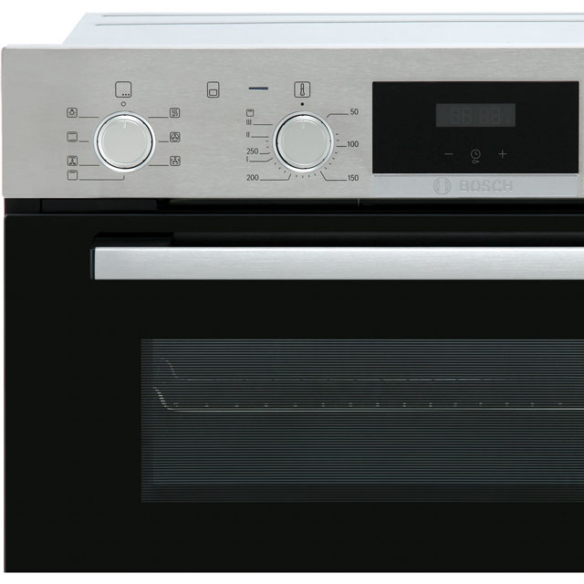 Bosch Serie 4 MBS533BS0B Built In Double Oven - Stainless Steel - MBS533BS0B_SS - 3