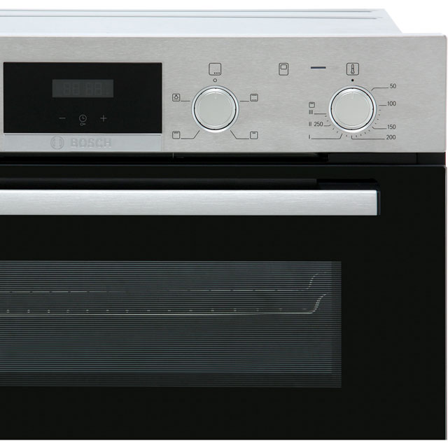 Bosch Serie 4 MBS533BS0B Built In Double Oven - Stainless Steel - MBS533BS0B_SS - 5
