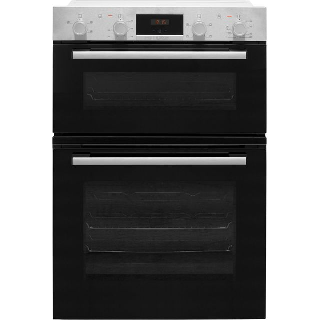 Bosch Serie 2 MHA133BR0B Built In Double Oven - Stainless Steel - MHA133BR0B_SS - 1