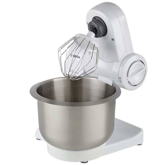 Bosch MUM4807GB Stand Mixer with 3.9 Litre Bowl - White - MUM4807GB_WH - 1