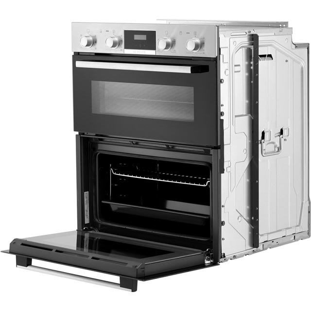 Bosch Serie 2 NBS113BR0B Built Under Double Oven - Stainless Steel - NBS113BR0B_SS - 5