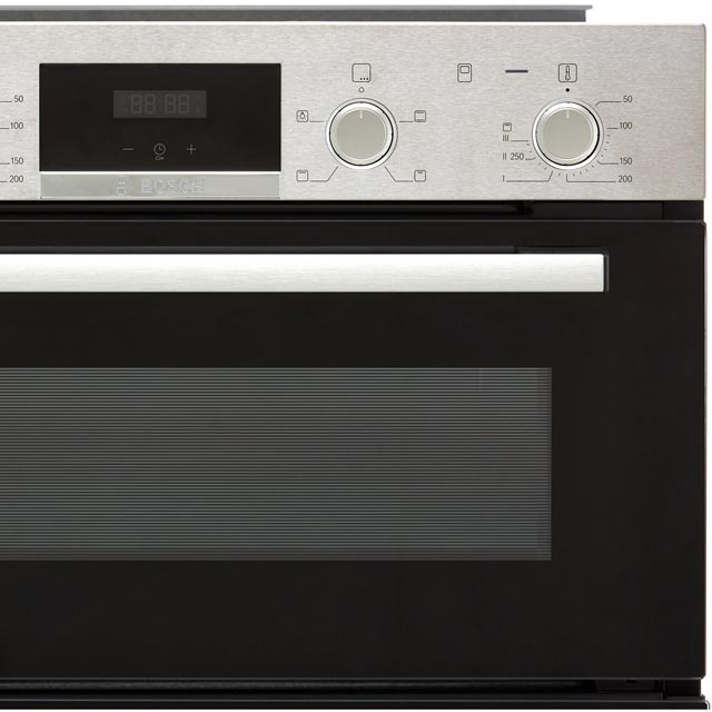 Bosch Serie 4 NBS533BS0B Built Under Double Oven - Stainless Steel - NBS533BS0B_SS - 5