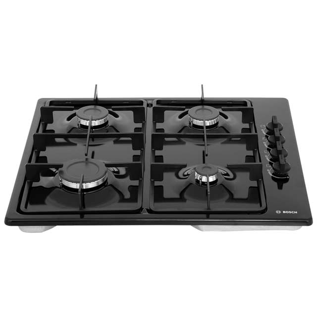 Bosch Serie 2 PBP6B6B60 Built In Gas Hob - Black - PBP6B6B60_BK - 5