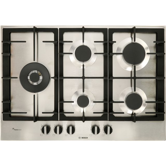 Bosch Serie 6 PCS7A5B90 Built In Gas Hob - Stainless Steel - PCS7A5B90_SS - 1