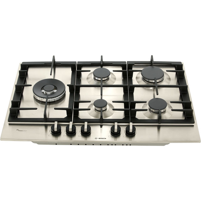 Bosch Serie 6 PCS7A5B90 Built In Gas Hob - Stainless Steel - PCS7A5B90_SS - 4