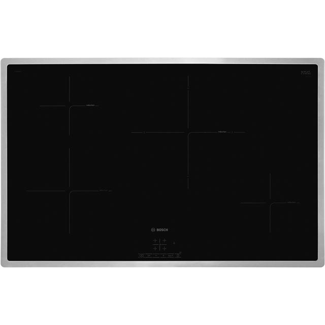 Bosch Serie 4 PIE845BB1E Built In Induction Hob - Black - PIE845BB1E_BK - 1