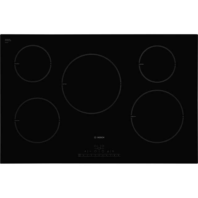 Bosch Serie 6 PIM851F17E 80cm Induction Hob - Black