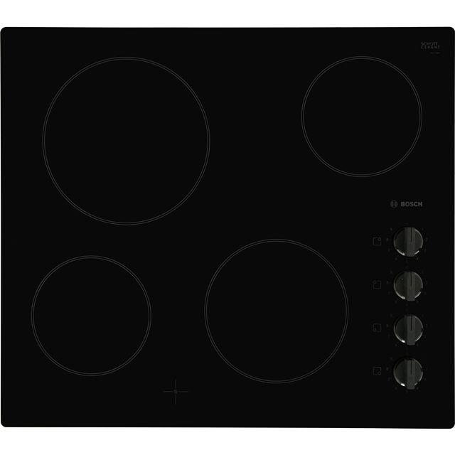 BOSCH Serie 2 PKE611CA1E Electric Ceramic Hob – Black, Black