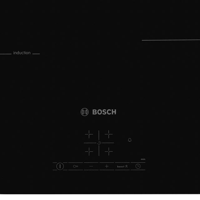 Bosch Serie 4 PUE611BF1B Built In Induction Hob - Black - PUE611BF1B_BK - 3