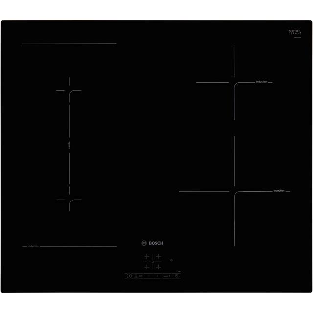 Bosch Serie 4 PWP631BB1E 59cm Induction Hob – Black