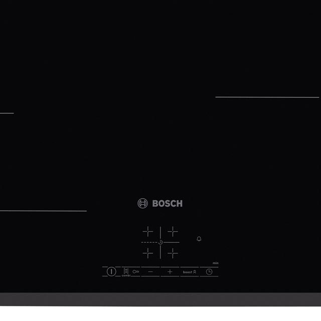 Bosch Serie 4 PWP631BF1B Built In Induction Hob - Black - PWP631BF1B_BK - 4