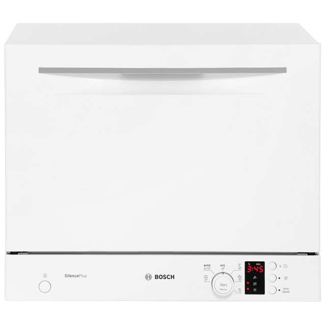 Bosch Serie 4 SKS62E22EU Table Top Dishwasher - White - A+ Rated - SKS62E22EU_WH - 1