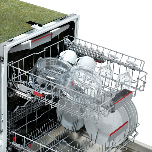 Bosch Serie 6 SMI68MS06G Semi Integrated Standard Dishwasher - Stainless Steel - SMI68MS06G_SS - 5