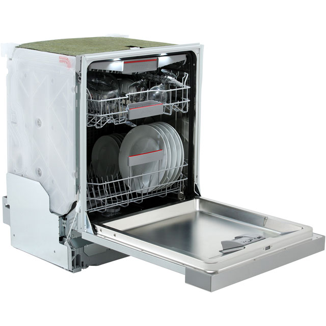Bosch Serie 6 SMI68MS06G Semi Integrated Standard Dishwasher - Stainless Steel - SMI68MS06G_SS - 3