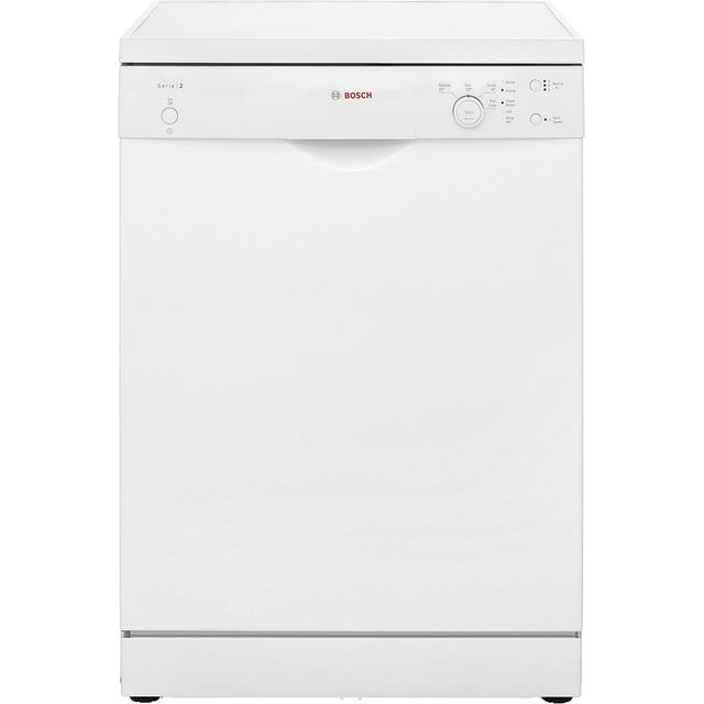 Bosch Serie 2 Standard Dishwasher - White - A+ Rated
