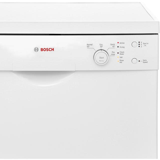 Bosch Serie 2 SMS24AW01G Standard Dishwasher - White - SMS24AW01G_WH - 3