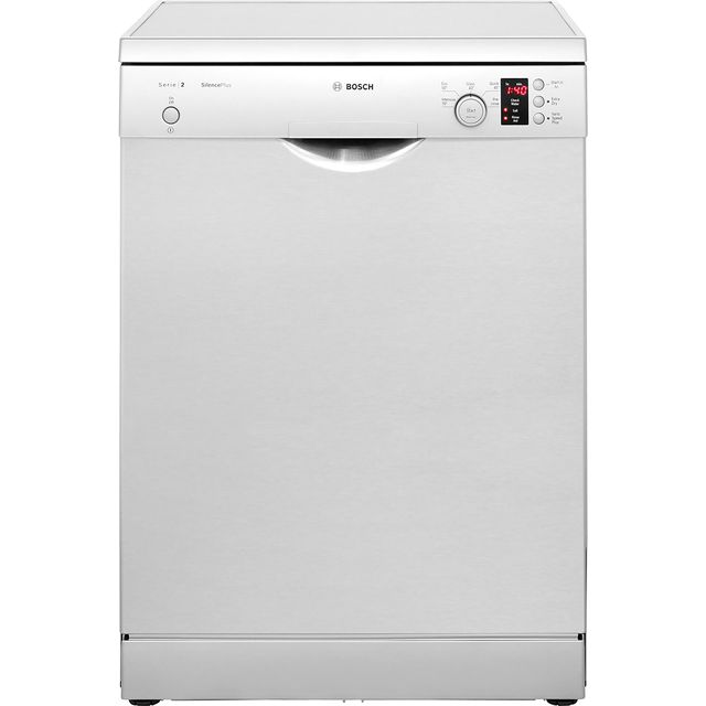 Bosch Serie 2 SMS25AI00G Free Standing Dishwasher in Silver at Boots Kitchen Appliances