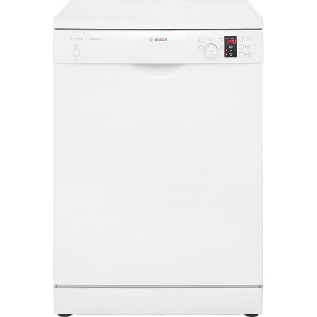 Bosch Serie 2 SMS25EW00G Standard Dishwasher - White - A++ Rated