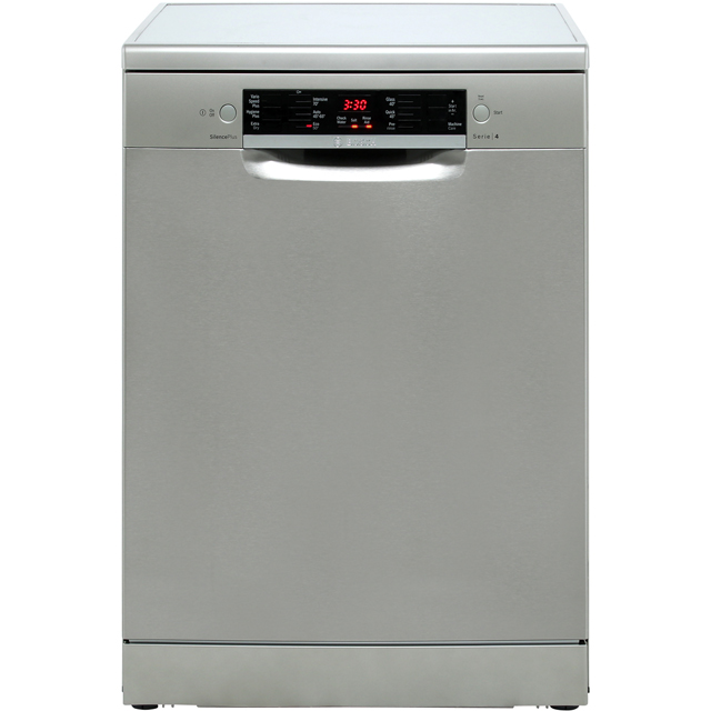 Bosch Serie 4 SMS46II00G Standard Dishwasher - Silver - A++ Rated