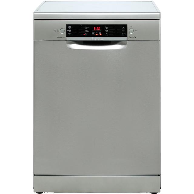Bosch Serie 4 Free Standing Dishwasher in Silver