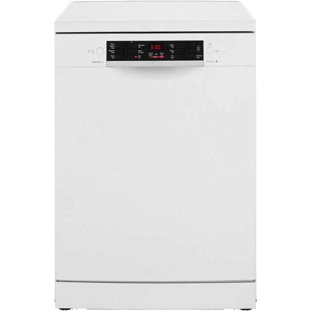 Bosch Serie 4 SMS46IW04G Standard Dishwasher - White Best Price, Cheapest Prices