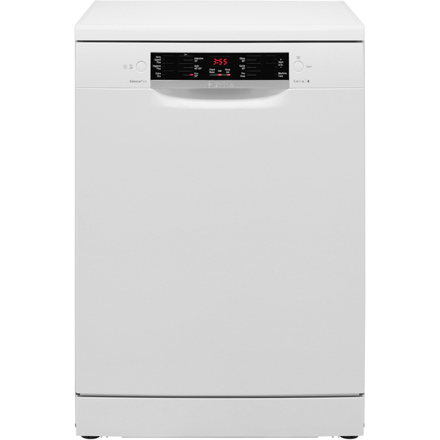 Bosch Serie 4 Standard Dishwasher - White - A++ Rated