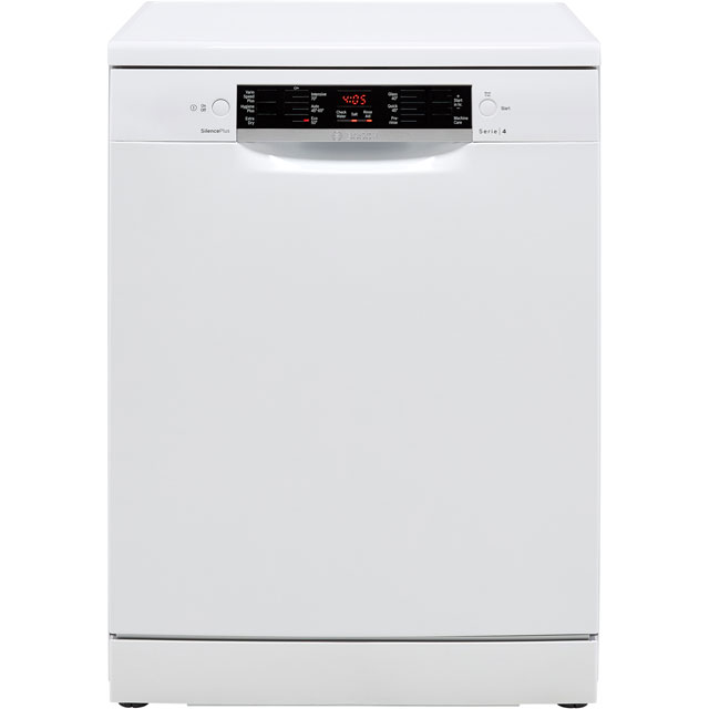 Bosch Serie 4 SMS46JW09G Standard Dishwasher - White - A++ Rated