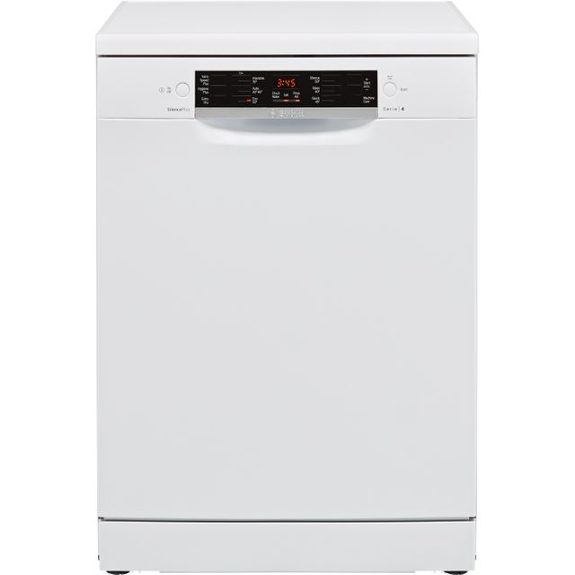 Bosch Serie 4 SMS46MW04G Standard Dishwasher - White - A++ Rated
