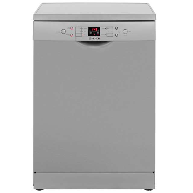 bosch serie 6 sms58m18gb free standing dishwasher in stainless steel. Black Bedroom Furniture Sets. Home Design Ideas
