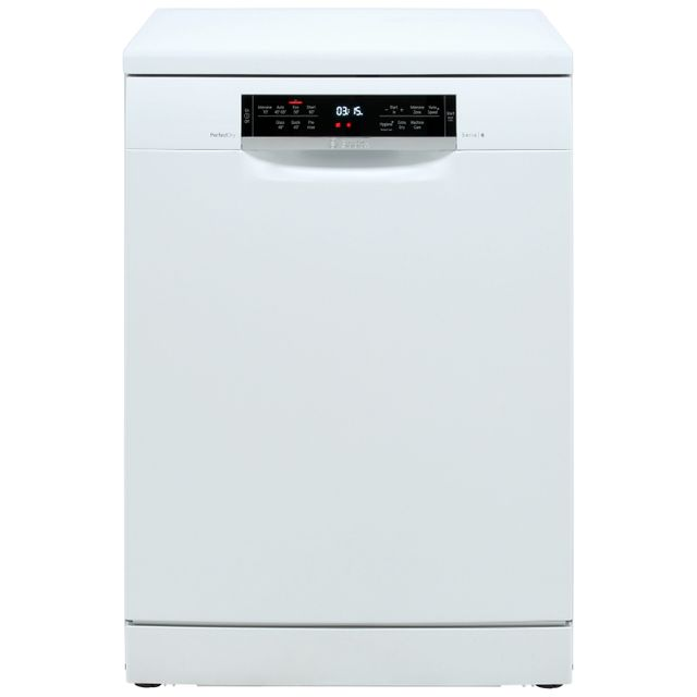 Bosch Serie 6 Standard Dishwasher - White - A+++ Rated