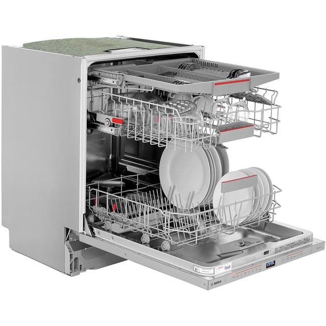 Bosch Serie 6 SMV68MD00G Fully Integrated Standard Dishwasher - Stainless Steel - SMV68MD00G_SS - 4
