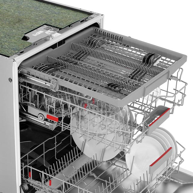 Bosch Serie 6 SMV68MD00G Fully Integrated Standard Dishwasher - Stainless Steel - SMV68MD00G_SS - 5