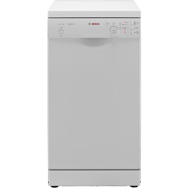 Bosch Serie 2 Slimline Dishwasher - White - A+ Rated