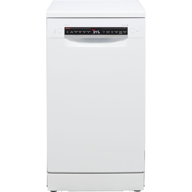 Bosch Serie 4 SPS4HMW53G Wifi Connected Slimline Dishwasher – White – A+ Rated