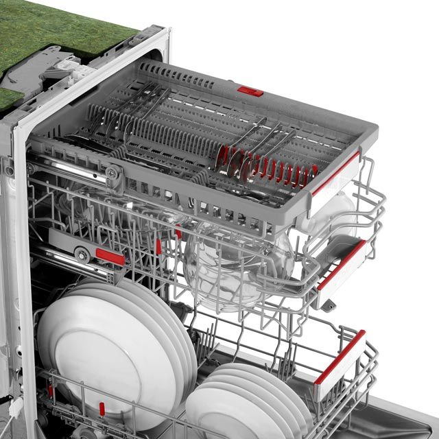 Bosch Serie 6 SPV66TX00G Fully Integrated Slimline Dishwasher - Stainless Steel - SPV66TX00G_SS - 5