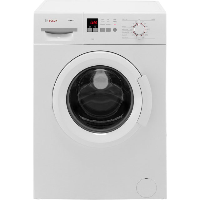 Bosch Serie 2 WAB28161GB 6Kg Washing Machine with 1400 rpm - White - A+++ Rated - WAB28161GB_WH - 1