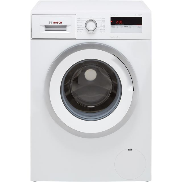 Bosch Serie 4 WAN24108GB 8Kg Washing Machine with 1200 rpm - White - A+++ Rated - WAN24108GB_WH - 1