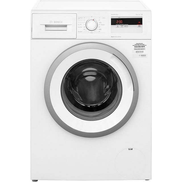 Bosch Serie 4 WAN28050GB 7Kg Washing Machine with 1400 rpm - White - WAN28050GB_WH - 1