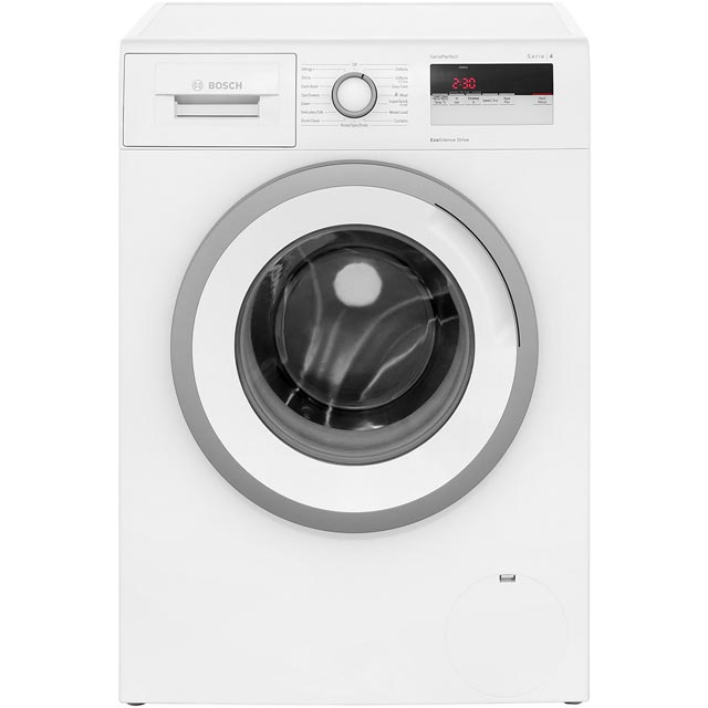 Bosch Serie 4 WAN28150GB 8Kg Washing Machine with 1400 rpm - White - A+++ Rated - WAN28150GB_WH - 1