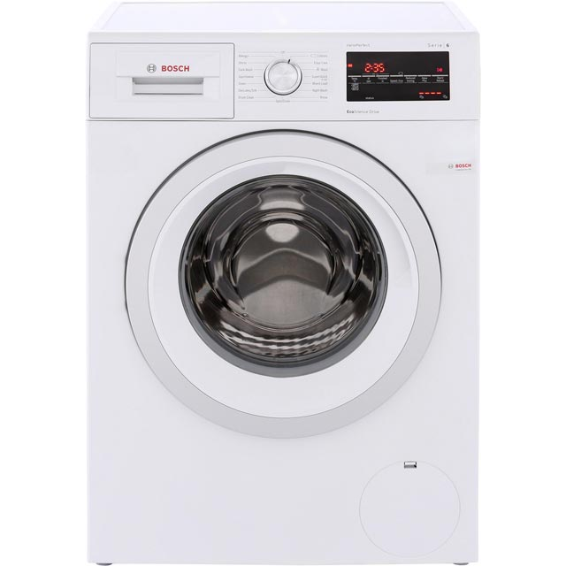 Bosch Serie 6 WAT28463GB 9Kg Washing Machine with 1400 rpm - White - A+++ Rated - WAT28463GB_WH - 1